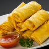 Cafetaria spring roll
